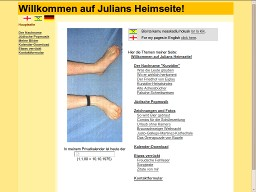 Julians Heimseite